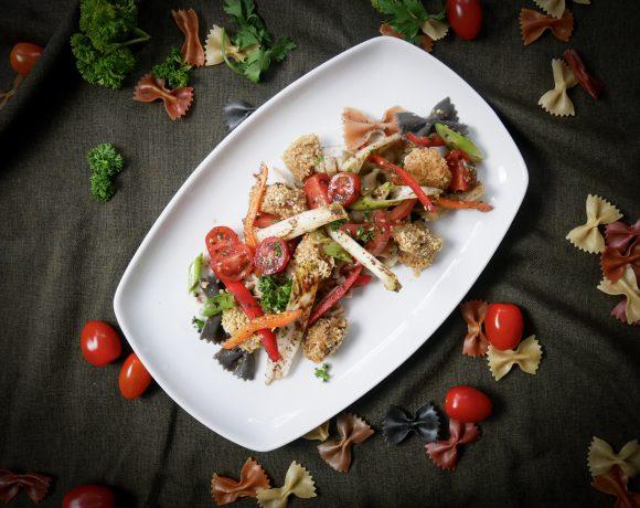 Schatzis Pasta-Salat mit Thunfischwürfeln